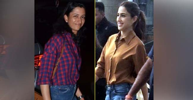 Sara Ali Khan and Anisha Padukone Flaunt their Summer look in shirts and denim jeans; See Pics