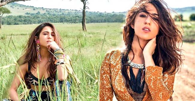 Sara Ali Khan Turns Glamorous Boho-Chic for Her First Magazine Cover Shoot and this BTS VIDEO is a proof