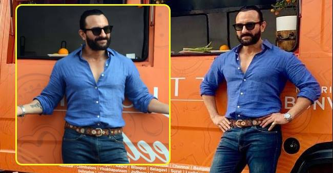In Pictures: Saif Ali Khan Gets a New Haircut And He Looks Absolutely Rad In His New Hairdo
