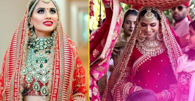 This Bride Wore The Same Lehenga That Sabyasachi Designed for Deepika Padukone's Wedding