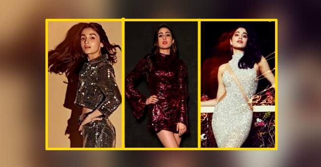 Take Tips from Alia Bhatt, Sara Ali Khan, and Janhvi Kapoor to Pull Off Retro-Style Party Look With a Bang