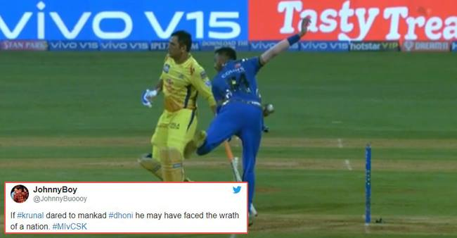 Krunal Pandya gives 'Mankad' warning to MSD; Mohammad Nabi gives his verdict on Ashwin Butler incident