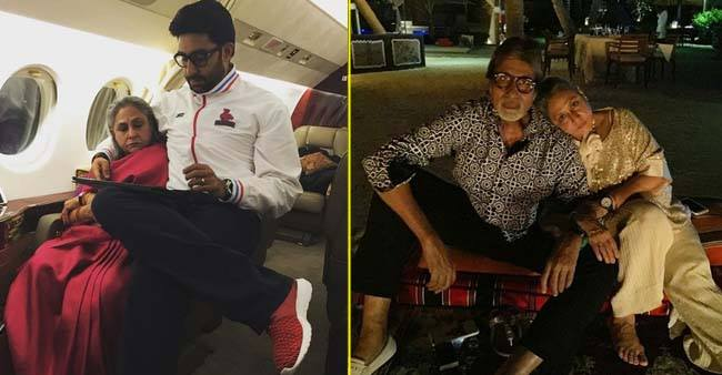 Birthday Special: Jaya Bachchan's Ten Adorable Pictures with Amitabh and The Whole Bachchan Family