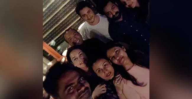 Telugu Superstars Mahesh Babu and Jr NTR Party With Their Friends on a Night Out, see pics
