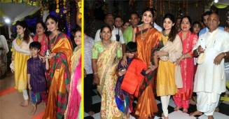 Shilpa Shetty and Her Son Viaan Are a Treat to Watch in Latest Ram Navmi Pictures!