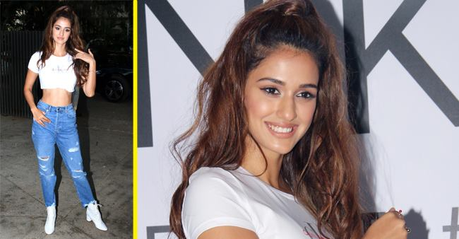 Disha Patani Shows Fans How to Rock White Crop Top and Ripped Jeans Like a Pro, see pics
