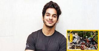 Ishaan Khatter Gets in Trouble After Parking Bike in No-Parking Zone, Find Out What Happened Next?