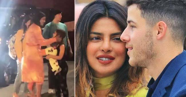 Priyanka Chopra's buffs started singing her super hit number, Desi Girl, on seeing her