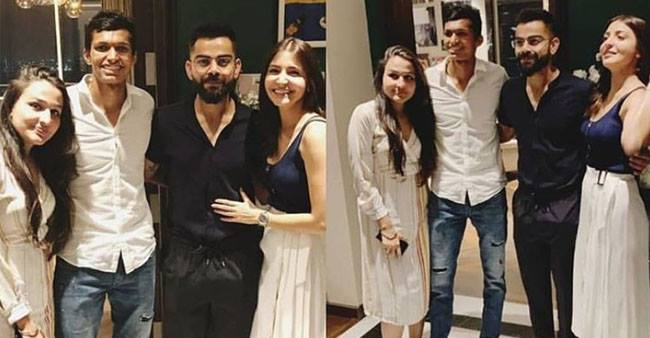 Virat Kohli and Anushka Sharma Invite Team RCB at Home For Dinner, see pics