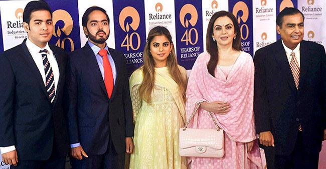 These Unseen Pictures of the Ambani Family Are Something You Would Not Like to Miss