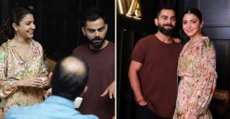 In Pictures: Anushka Sharma and Virat Kohli Host Friday Night Dinner Party for Friends, see pics
