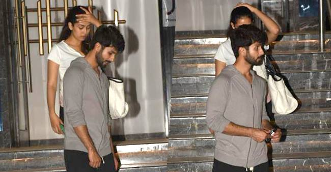 These Photos of Shahid Kapoor Chilling With Wife Mira Rajput Are Unmissable