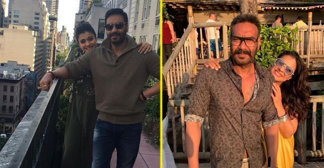 These Pictures Show How Adorable Ajay Devgn And Kajol Look Together