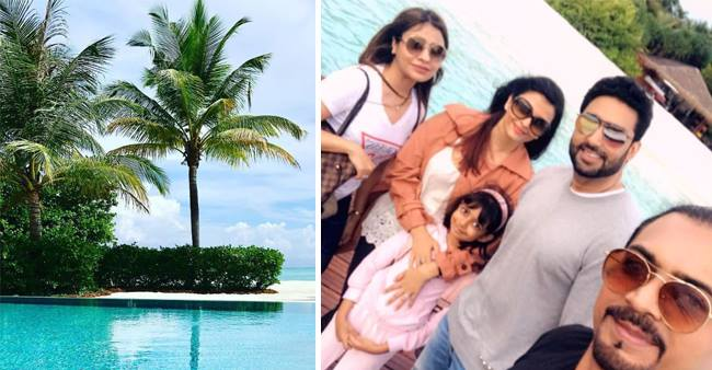 Abhishek and Aishwarya Bachchan spend some quality time ahead of their Anniversary along with Aaradhya.