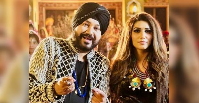Daler Mehndi styled the look of Sapna Choudhary himself for new song 'Bawli Tared'