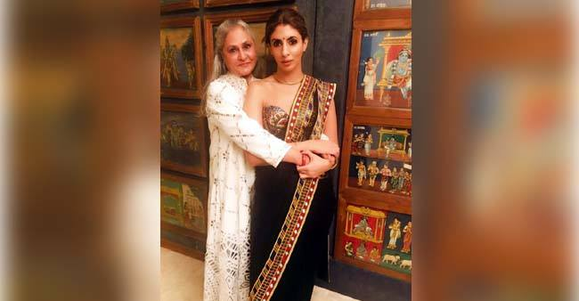 Shweta Bachchan celebrates birthday of mother Jaya Bachchan is the most adorable way.