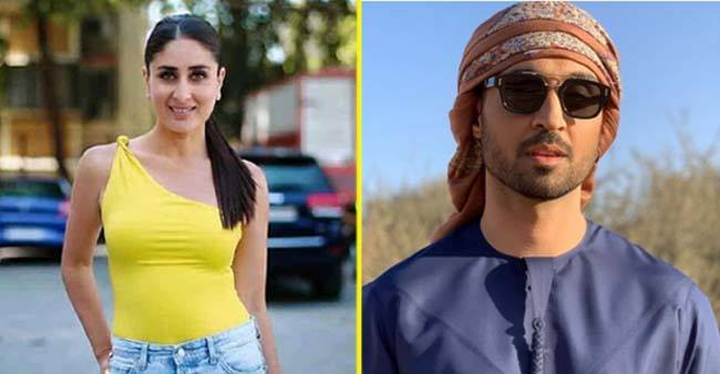 "Kareena Kapoor has a special video for Diljit Dosanjh on his latest single ""Kylie + Kareena."""