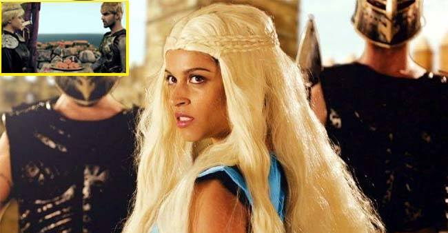Youtube fame Lilly Singh recreates the Desi version of Game of Thrones.
