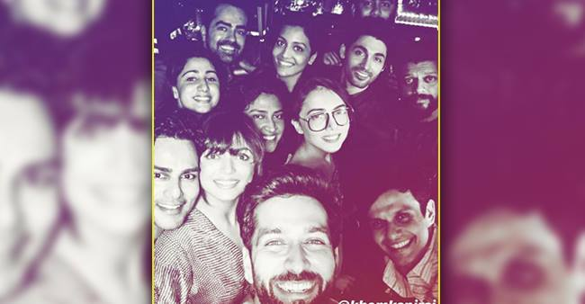 Nakuul Mehta celebrates a perfect weekend with Drashti Dhami and others.