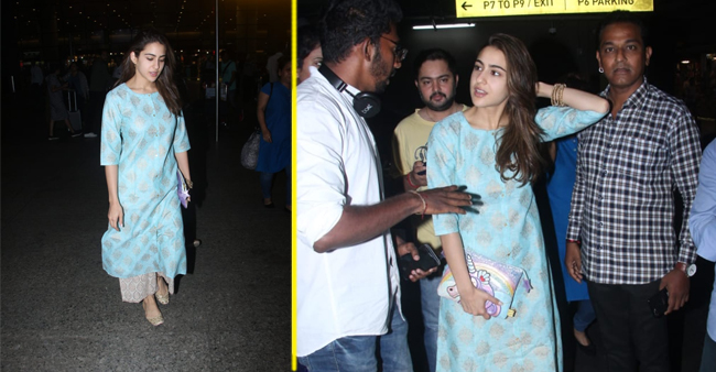 Airport Appearance Of Sara Ali Khan Gives A Major Summer Fashion Hint