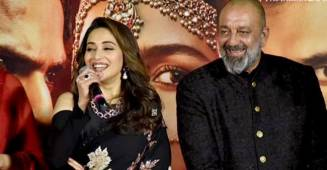 'She's got terrific command as an actor.' Sanjay Dutt on working with Madhuri Dixit again