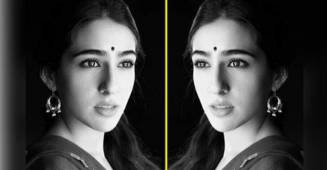 Sara Ali Khan resembles mother Amrita Singh so much in recent Insta post.