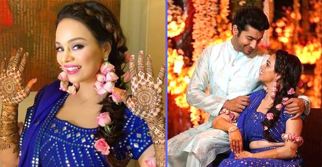 Sharad Malhotra and Ripci Bhatia got married and the pictures from the ceremony are adorable to miss