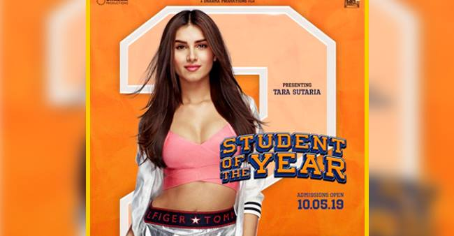 Internet does not seem happy about Tara Sutarias' new poster for 'Student Of The Year 2'