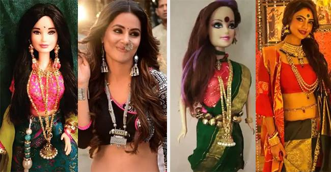 After Taimur Ali Khan, Hina Khan and Erica Fernandes from 'Kasautii Zindagii Kay 2' have their own dolls too