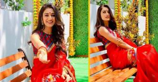 Erica Fernandes craved for Rasgulla as she wishes her fans 'Shubho nobo borsho'