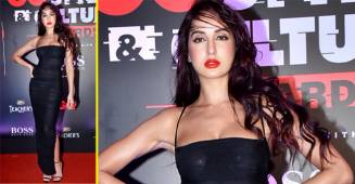 Nora Fatehi STUNS in Sheer Figure-Hugging Dress at GQ Style and Culture Awards