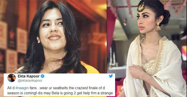 Ekta Kapoor in her tweet hints on the return of Mouni Roy in 'Naagin 3'.