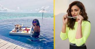 Parineeti Chopra's latest photoshoot is all about dummy backgrounds: From Switzerland to snow set-up
