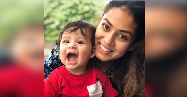 Mira Rajput's Adorable picture with baby Zain will make you go Aww