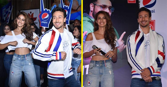 Rumored Love Birds Tiger, Disha Together With Badshah Roll Out The Pepsi Anthem