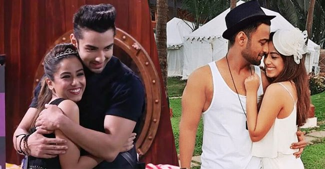 Rohit Suchanti dedicates a special post to Srishty Rode with happy throwback picture from 'Big Boss'