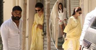Alia Bhatt just walked out of her salon in the perfect summer outfit with a little surprise, details inside
