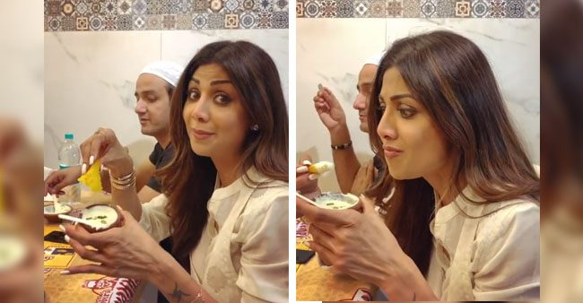 Watch: Shilpa Shetty's latest video showing her eating 'Rabri' is unmissable