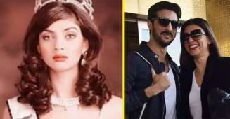 Today, Sushmita Sen clocked 25 years of winning the Miss Universe title, and boyfriend Rohman Shawl showered love on his lady