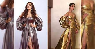 Fashion Trends: How to rock the metallic off-shoulder dress feat. Deepika Padukone and Malaika Arora