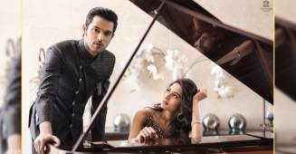 Erica Fernandes shares a mesmerizing picture with Parth Samthaan and it will give you major couple goals