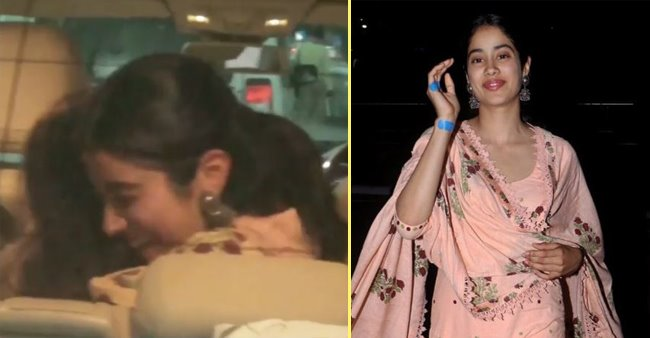 Jahnvi Kapoor's reaction upon meeting her bestie at the Airport will melt your heart right away