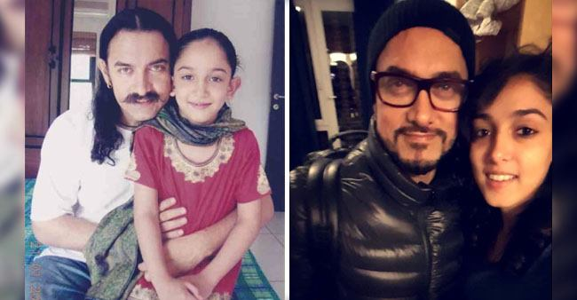 Aamir Khan wishes Daughter Ira khan in the most adorable way with a throwback picture
