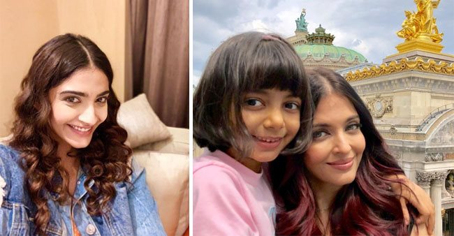 Sonam Kapoor fell in love with Aaradhya Bachchan during the Cannes Festival 2019