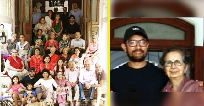 Aamir Khan posts an adorable picture on Mother-in-law's birthday and it will melt your heart