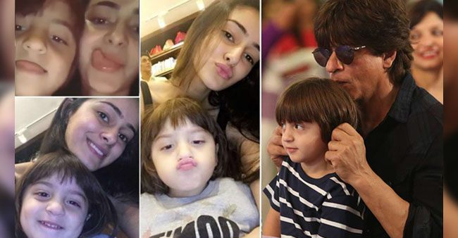 Ananya Panday is really close with the little AbRam Khan and this video will prove why