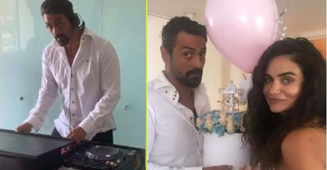 Arjun Rampal and Girlfriend Gabrielle had a gala time at their Baby Shower