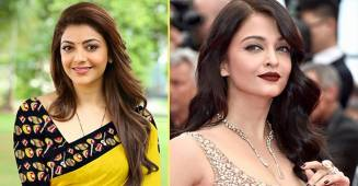 Kajal Aggarwal made her Bollywood debut alongside Aishwarya Rai in a small role