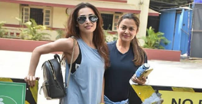 Malaika Arora posts an amazing video from the gym and sister Amrita calls her 'Show off'