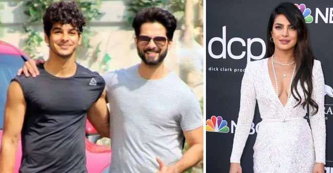 Ishaan Khattar chooses his favorite from Shahid Kapoor's exes and it is none other than Priyanka Chopra